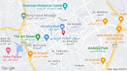 OYO 467 Al Dahya Hotel Map