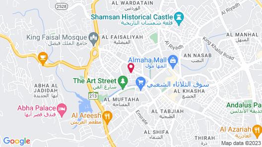 OYO 540 Abha Alshogag Map