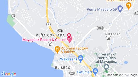 Mayagüez Resort & Casino Map