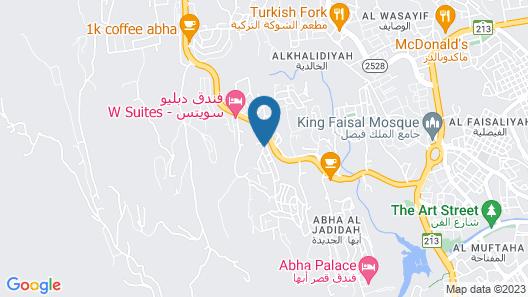 Aram Al Souda Furnished Units Map