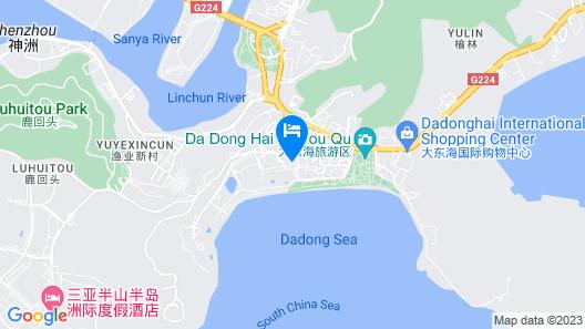 Jia Yu Vacation Apartment Sea View 3 B Map