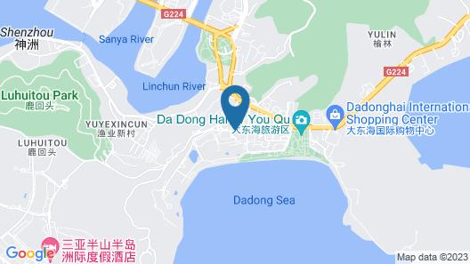 The Shanhaitian Resort Sanya, Autograph Collection Map