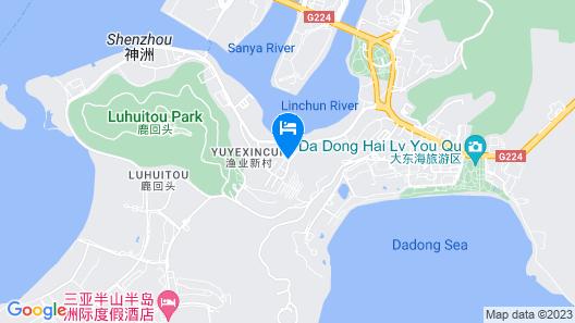 Sanya Yomovo Vacation Rentals Map