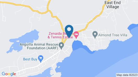 Anguilla's Bird of Paradise Map