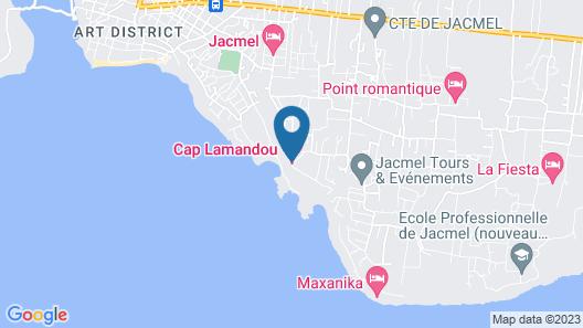 Cap Lamandou Hotel Map