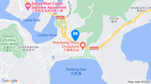 San Yan Blue Harbor Apartment Map