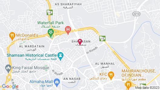 OYO 315 Ramz Abha Hotel Map