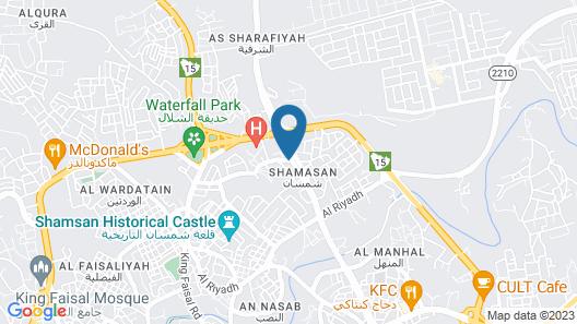 OYO 369 Arwa Alqosor Map
