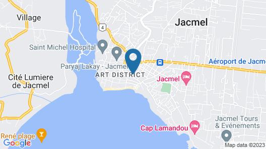 Manoir Adriana Hotel Map