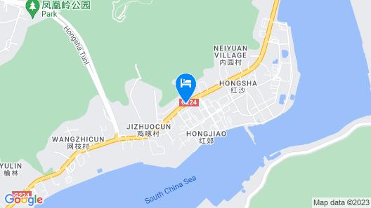 Ban Dao seaview apartments Map