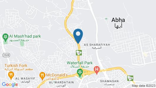 Qasr Al Hamra Abha Map