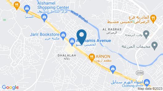 OYO 481 Mersal Map