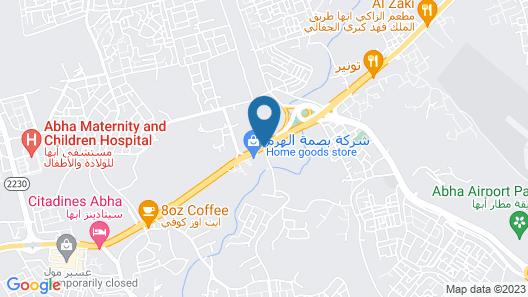 Al Rawda Apartments Map