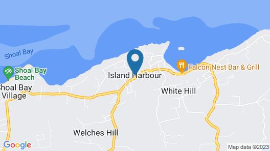 Patricks Bay Villa Map