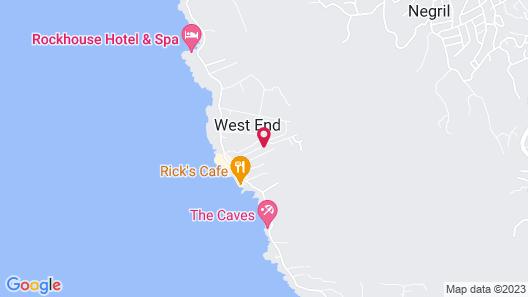 Seastar Inn Map