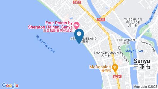 Shengyi Holiday Villa Hotel Map