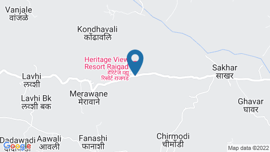 Heritage View Resort Rajgad Map