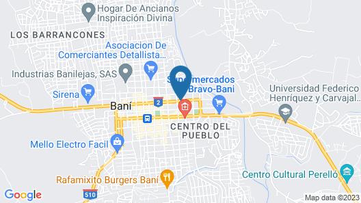 Dpravia Hotel SRL Map