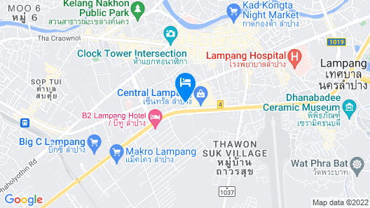 Jittrawadee Hotel Map