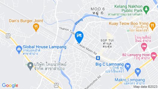 Memmoth Hostel In Lampang Map