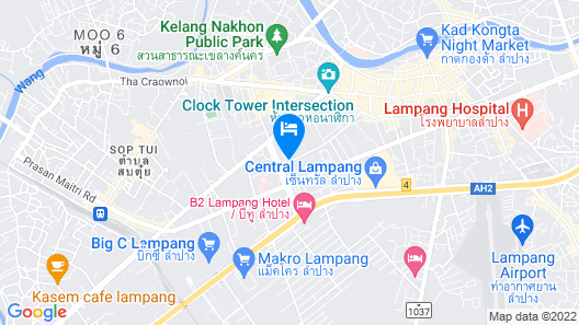THE SR Residence Lampang Map