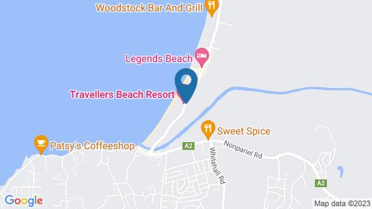 Travellers Beach Resort Map