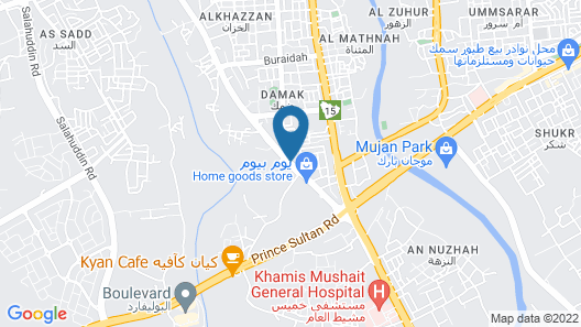 Qasr Al Sahab Map