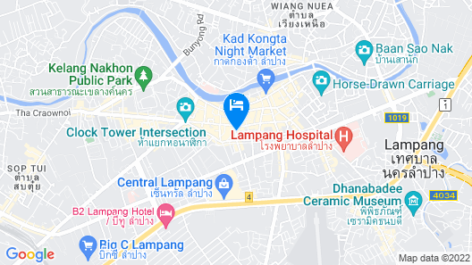 Khelangnakorn Lampang Hotel Map