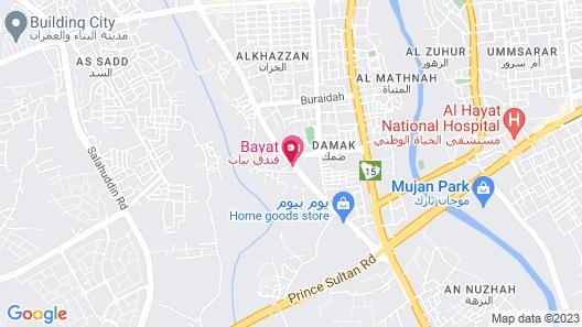 Bayat Hotel Map