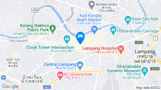 Asia Lampang Hotel Map