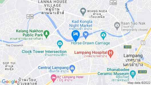 R-Lampang Guest House Map