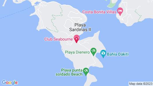 Oceania Villas Map