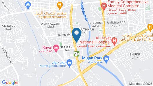 OYO 390 Rawaat Al Shahad Apt Hotel Map