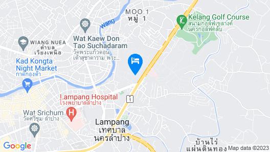Regent Lodge Lampang Map