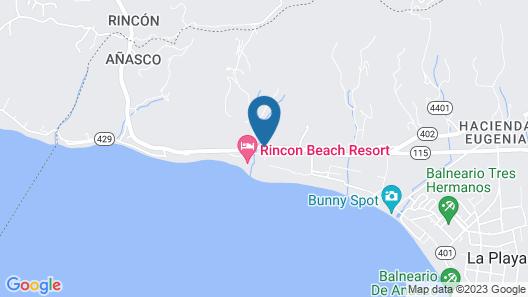 Rincon Beach Resort Map