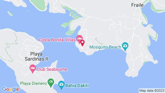 Villa 2302 Beach Resort Culebra Map