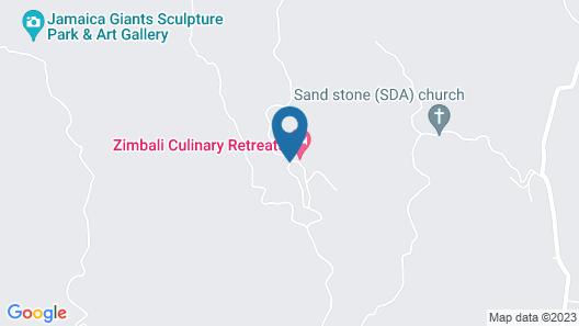 Zimbali Culinary Retreat Map