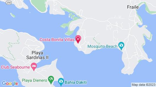 Costa Bonita Culebra villas privadas Map