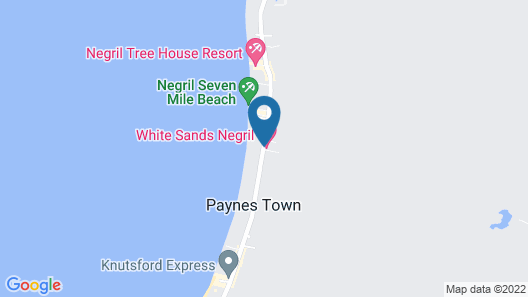 White Sands Negril Map