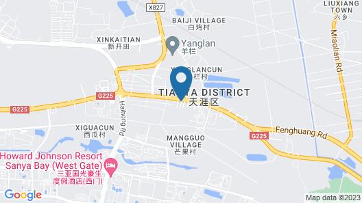 SANYA JIULIXIANG BUSINESS HOTEL Map