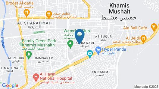 OYO 410 Diamy Apartments Map