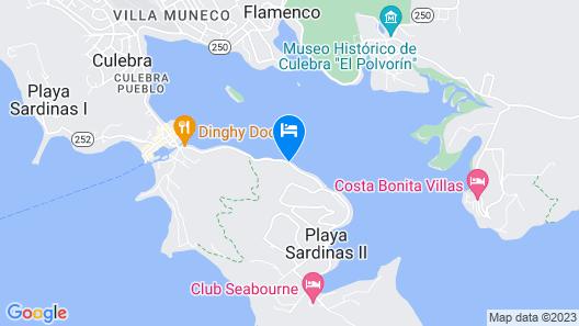 Culebra Island Villas Map