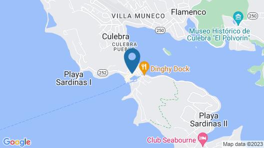 El Navegante de Culebra Map