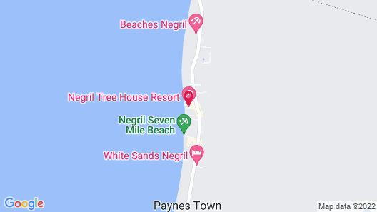 Negril Tree House Resort Map