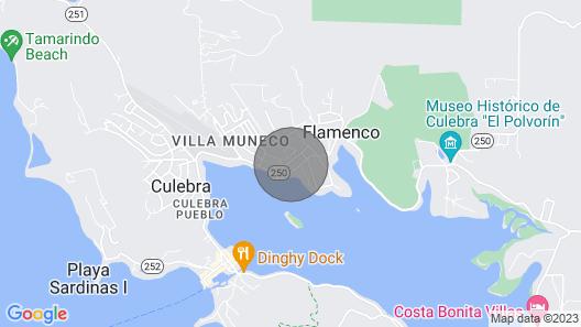 Culebra Apt Near Beach w/ Ensenada Bay Views! Map