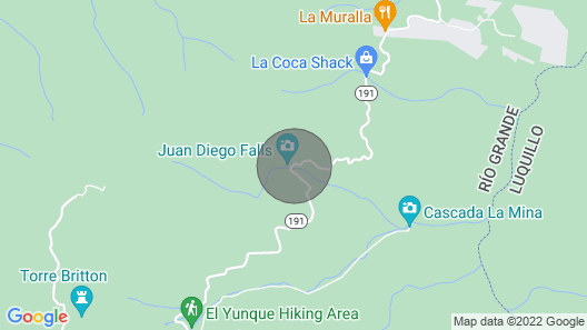 Pivate With the Best That PR has to Offer Visitors all i Minutes From Your Door Map