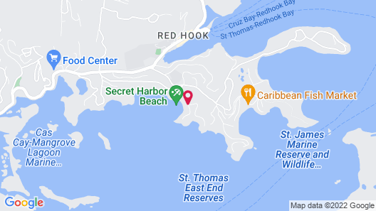 Secret Harbour Beach Resort Map