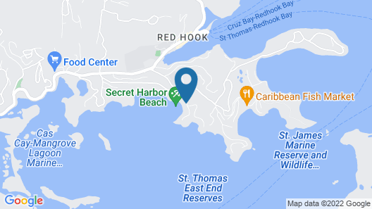 Two Sandals by the Sea Inn - B&B Map