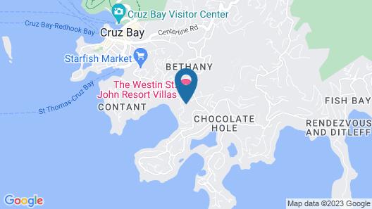 The Westin St. John Resort Villas Map