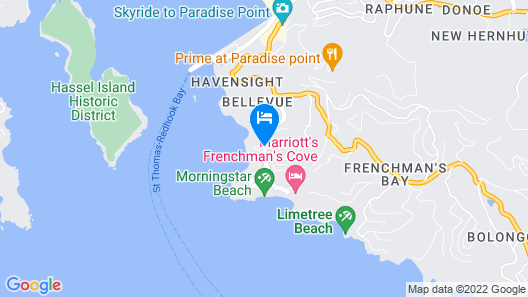 Marriott's Frenchman's Cove Map